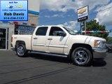 2013 White Diamond Tricoat Chevrolet Silverado 1500 LT Crew Cab 4x4 #69307903