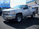 2012 Silver Ice Metallic Chevrolet Silverado 1500 LS Regular Cab 4x4 #69307902