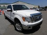 2011 Oxford White Ford F150 Lariat SuperCab 4x4 #69308112