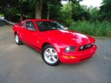 2007 Torch Red Ford Mustang V6 Deluxe Coupe #69308297