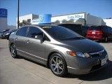 2007 Galaxy Gray Metallic Honda Civic LX Sedan #6900571