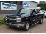 2005 Dark Blue Metallic Chevrolet Silverado 1500 Z71 Regular Cab 4x4 #69308073