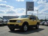 2003 Zinc Yellow Ford Explorer XLT 4x4 #69308065