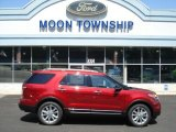 2013 Ruby Red Metallic Ford Explorer XLT 4WD #69308053