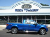2012 Blue Flame Metallic Ford F150 STX SuperCab 4x4 #69308050