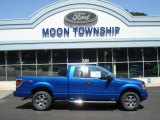 2012 Blue Flame Metallic Ford F150 STX SuperCab 4x4 #69308049
