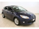 2012 Kona Blue Metallic Ford Focus SEL 5-Door #69308246