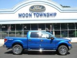 2012 Blue Flame Metallic Ford F150 XLT SuperCrew 4x4 #69308047