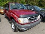 2000 Toreador Red Metallic Ford Explorer XLT 4x4 #69308037