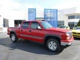 2007 Victory Red Chevrolet Silverado 1500 Classic LT  Z71 Crew Cab 4x4 #69308031