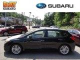 2012 Obsidian Black Pearl Subaru Impreza 2.0i Limited 5 Door #69351220