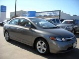 2006 Galaxy Gray Metallic Honda Civic EX Sedan #6900615
