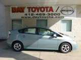 2012 Sea Glass Pearl Toyota Prius 3rd Gen Three Hybrid #69351138