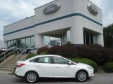 2012 Oxford White Ford Focus SEL Sedan #69351124