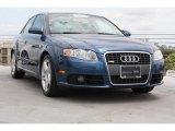2008 Ocean Blue Pearl Effect Audi A4 2.0T Special Edition Sedan #69351689