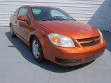 2007 Sunburst Orange Metallic Chevrolet Cobalt LT Coupe #69351403