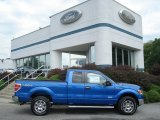2012 Blue Flame Metallic Ford F150 XLT SuperCab 4x4 #69351120