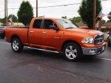2010 Dodge Ram 1500 Mango Tango Pearl