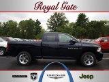 2012 True Blue Pearl Dodge Ram 1500 Express Quad Cab 4x4 #69351097