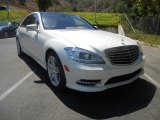 2013 Diamond White Metallic Mercedes-Benz S 550 Sedan #69351055
