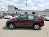 2012 Basque Red Pearl II Honda CR-V LX 4WD #69351593