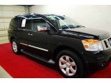 2012 Galaxy Black Nissan Armada SL #69351288