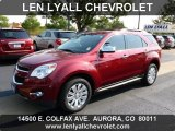 2010 Cardinal Red Metallic Chevrolet Equinox LTZ AWD #69351250
