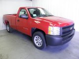 2012 Victory Red Chevrolet Silverado 1500 Work Truck Regular Cab #69351510