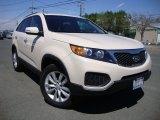 2011 White Sand Beige Kia Sorento LX V6 #69404366