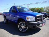 2008 Electric Blue Pearl Dodge Ram 1500 ST Regular Cab #69404325