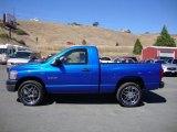 Electric Blue Pearl Dodge Ram 1500 in 2008