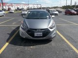 2013 Titanium Gray Metallic Hyundai Elantra Coupe SE #69404026