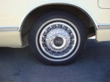 Lincoln Continental 1979 Wheels and Tires