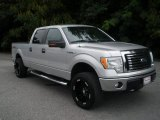 2010 Ingot Silver Metallic Ford F150 XLT SuperCrew 4x4 #69404534