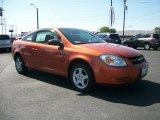 2007 Sunburst Orange Metallic Chevrolet Cobalt LS Coupe #69403982
