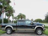 2012 Tuxedo Black Metallic Ford F250 Super Duty King Ranch Crew Cab 4x4 #69403964