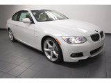 2013 Mineral White Metallic BMW 3 Series 335i Coupe #69404266