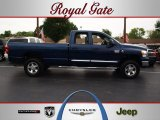 2009 Patriot Blue Pearl Dodge Ram 3500 ST Quad Cab 4x4 #69403947