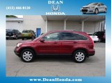2008 Tango Red Pearl Honda CR-V EX-L 4WD #69404495