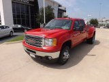 2013 Fire Red GMC Sierra 3500HD Crew Cab 4x4 Dually #69404254