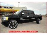 2009 Black Chevrolet Silverado 1500 LT Texas Edition Extended Cab #69404244