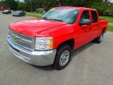 2012 Victory Red Chevrolet Silverado 1500 LT Crew Cab #69404466