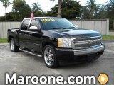 2007 Black Chevrolet Silverado 1500 LT Crew Cab #69404233