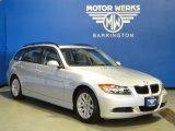2006 Titanium Silver Metallic BMW 3 Series 325xi Wagon #69403905