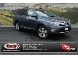 2012 Shoreline Blue Pearl Toyota Highlander Limited 4WD #69403865