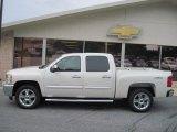 2013 White Diamond Tricoat Chevrolet Silverado 1500 LT Crew Cab 4x4 #69404397
