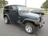 2006 Jeep Green Metallic Jeep Wrangler X 4x4 #69404388
