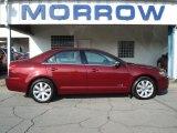 2007 Vivid Red Metallic Lincoln MKZ Sedan #69460884