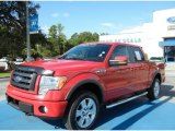 2010 Vermillion Red Ford F150 FX4 SuperCrew 4x4 #69460879