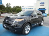 2013 Tuxedo Black Metallic Ford Explorer Limited EcoBoost #69460876
